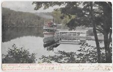 Vintage Postcard 1906 Color Steamer Ship Armenia White Lake Sunapee N.H.