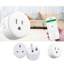 WiFi Smart Alexa UK Plug With Remote Control Switch Socket For Echo Google Home