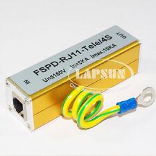 RJ-11 Modem Telephone Fax Surge Protector Lightning Proof Arrester FSD-RJ11