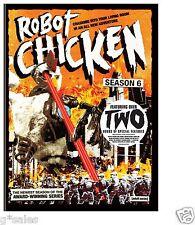 Robot Chicken Complete 6th Sixth Season 6 Six ~ BRAND NEW 2-DISC DVD SET