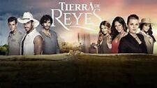 TELENOVELA MEXICANA,TIERRA DE REYES,40 DVDS