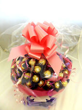 FERRERO ROCHER CHOCOLATE GIFT BASKET BOUQUET 34 ITEMS , ANY OCCASION UNIQUE GIFT