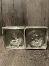 Laura Ashley Frances Clear Glass Curtain Tiebacks Holdbacks Boxed Crystals Pair