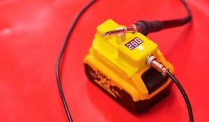 Custom 18V DEWALT portable Soldering Iron for Dewalt 18v battery 500 degrees
