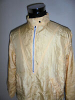 iceland vintage Henson Nylon Jacke oldschool Sportjacke blouson glanz gelb S(M)