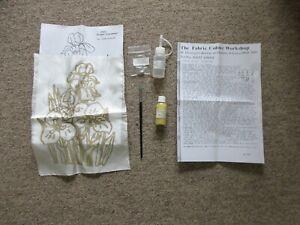 Craft 100% silk painting picture 'Irises'