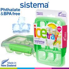 Sistema Ice Tray Medium x 12 Cubes P & BPA Free Freezer Freezing Container NZ