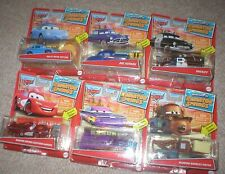 CARS WELCOME TO RADIATOR SPRINGS SET OF ALL 6, ALL UNOPENED, FROM MATTEL.