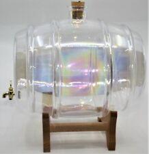 10 L WEINFASS GLAS FASS GLASS BARREL VERRE BARIL WHISKY GESCHENK GRAVUR CADEAUX