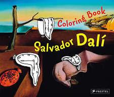 NEW Coloring Book Dali (Prestel Postcard Books) by Doris Kutschbach