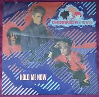 """Thompson Twins – Hold Me Now 7"""" Picture Sleeve"""