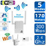300Mbps WiFi Repeater Wireless-N Range Extender Signal Booster Network Router