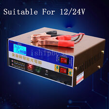 12V/24V 100AH Electric Car Dry&wet Battery Charger Intelligent Pulse Repair Type