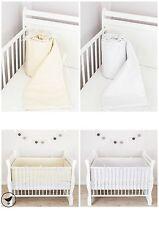 Bettumrandung Kopfschutz Nestchen 420,360,180X30 cm Baby Bettnestchen  LOOLAY