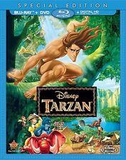 TARZAN New Sealed Blu-ray + DVD Special Edition Disney