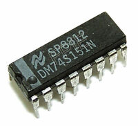 DM74S151N Multiplexer IC National Semiconductor
