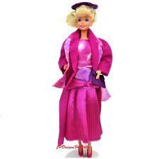 Vintage barbie fashion #4434 rose ensemble chapeau sac chaussures no doll