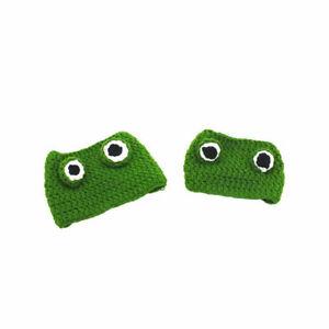 Cute Pet cat Kitten frog prince Hat Tiara Knit Headgear Decorative Xmas Decor