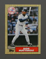 1987 TOPPS #500 -- DON MATTINGLY -- New York Yankees BASEBALL CARD
