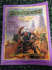 Advanced D & D Forgotten Realms Kara-Tur Vol. 1 Guide