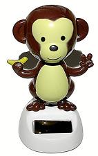 Dancing Monkey Solar Powered Solar Pal Dancing Figurine Ornament Home or Car New