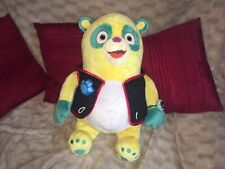 """XL 24"""" OFFICIAL DISNEY STORE AGENT OSO SOFT TOY PLUSH WITH BADGE VGC"""