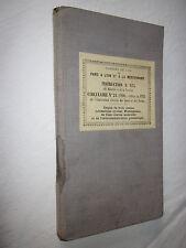 RAIL TRAIN CHEMINS DE FER PARIS LYON MEDITERANNEE INSTRUCTION N° 975