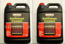 2 Gallons GENUINE RED Long Life Atifreeze Coolant 002721LLAC01 for Toyota Lexus