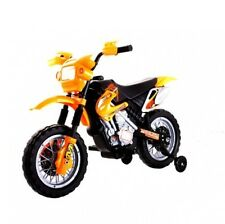 NEW KIDS RIDE ON MOTORBIKE MOTOCROSS SCRAMBLER ELECTRIC 6V BATTERY CAR BIKE