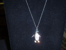 "Park Lane Jewelry, ""HAPPY FEET"" Necklace, Austrian crystals, NEW!!!"