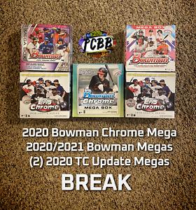 PHILADELPHIA PHILLIES - 2020/21 Topps Update Bowman Chrome 5 Mega Box Live Break