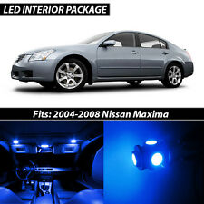 Blue Interior LED Lights Package Kit for 2004-2008 Nissan Maxima