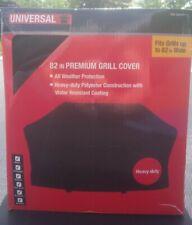 """Universal by Nexgrill 82"""" Premium Grill Cover 82""""x 46"""" x 24"""" Black 1001 534 521"""