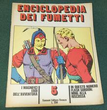 ENCICLOPEDIA DEI FUMETTI #5 ITALIAN COMIC CARTOON MAGAZINE FINE 1970