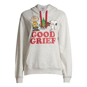 Peanuts Juniors' Good Grief Holiday Hoodie