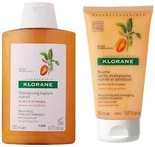 Klorane Nourishing Treatment Shampoo w/ Mngo Butter(200ml) + Klorane Conditioner