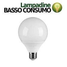 LAMPADINA LAMPADA LED GLOBO SFERA BASSO CONSUMO 24W E27 LUCE CALDA 3000K