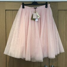 Ted Baker Odella Pink Diamanté Netted Tutu Skirt, Size 5, UK 16, BNWT, RRP £249