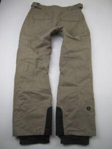 Womens Medium Marmot tan insulated snowboarding pants
