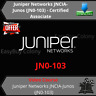 Juniper Networks JNCIA-Junos JN0-103 - Certified Associate Video Training Course
