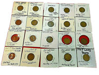 1909 P to 1930 (20 Coins) All Lincoln Cents (Less1909 S  &1909 SVDB,1915 & 1922)