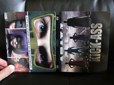 Kick Ass Blu-Ray Steelbook Region Free [UK] Play.com Action Very Rare