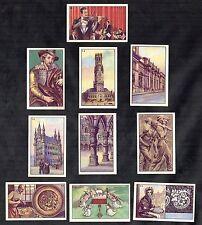 Images Of Belgium 1930s Cibon Card Set Music Art Flandres Lace Belgie Liege Brug