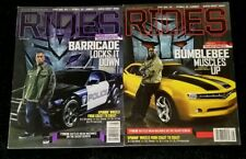 *PRE OWNED* RIDES Magazine TRANSFORMERS Edition July/August '07 2007 *USED*