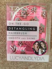 Tangle Teezer Pink With Dogs