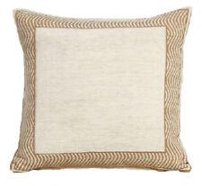 Cojines decorativos de color principal beige dormitorio de 45 cm x 45 cm para el hogar