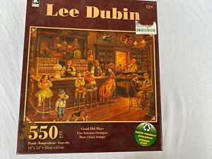 """Lee Dubin Good old Days Puzzle 550 Pieces 18"""" x 24"""" Earth Friendly Sealed new"""