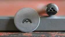 SUPPLY GUY 5mm Indian Half Sun Clouds Metal Punch Design Stamp SGT-18, Made USA
