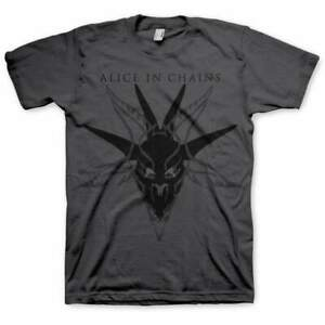 ALICE IN CHAINS - Skull Logo - Official T-Shirt New ORIGINAL
