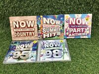 Now Thats's What I Call Music CD Bundle Joblot Collection Various Artists SEALED